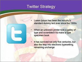 Santa Girl PowerPoint Template - Slide 9