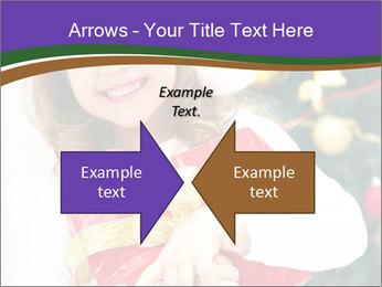 Santa Girl PowerPoint Template - Slide 90