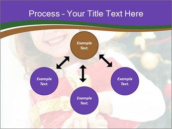 Santa Girl PowerPoint Template - Slide 91