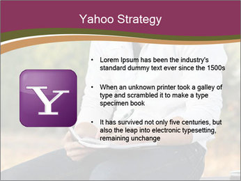 Young Man Writes Letter PowerPoint Templates - Slide 11