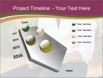 Young Man Writes Letter PowerPoint Template - Slide 26