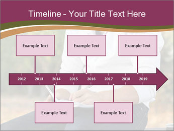 Young Man Writes Letter PowerPoint Templates - Slide 28