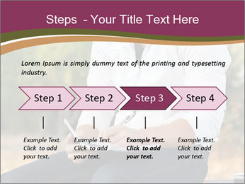 Young Man Writes Letter PowerPoint Template - Slide 4