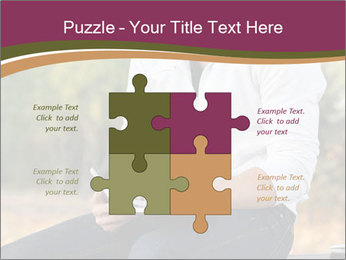 Young Man Writes Letter PowerPoint Templates - Slide 43