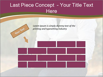 Young Man Writes Letter PowerPoint Template - Slide 46