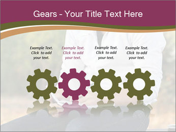 Young Man Writes Letter PowerPoint Templates - Slide 48