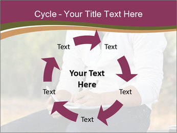 Young Man Writes Letter PowerPoint Templates - Slide 62