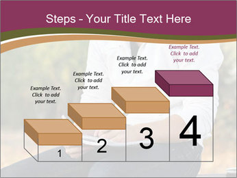 Young Man Writes Letter PowerPoint Templates - Slide 64