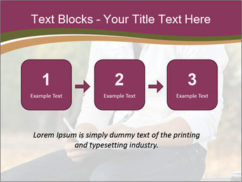 Young Man Writes Letter PowerPoint Templates - Slide 71