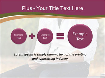 Young Man Writes Letter PowerPoint Templates - Slide 75