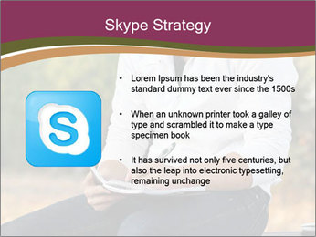 Young Man Writes Letter PowerPoint Templates - Slide 8