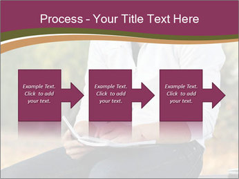 Young Man Writes Letter PowerPoint Templates - Slide 88