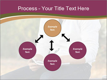 Young Man Writes Letter PowerPoint Templates - Slide 91