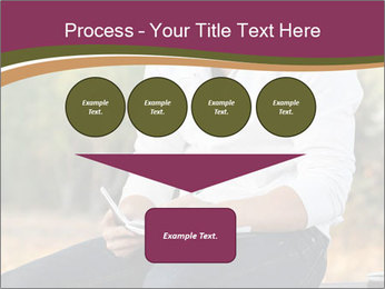 Young Man Writes Letter PowerPoint Templates - Slide 93