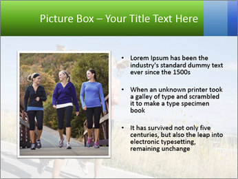 Two Women Jogging Together PowerPoint Template - Slide 13