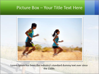 Two Women Jogging Together PowerPoint Template - Slide 15