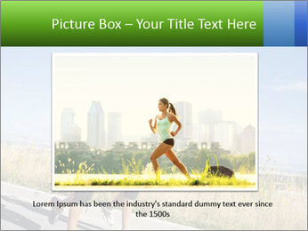 Two Women Jogging Together PowerPoint Template - Slide 16