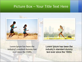 Two Women Jogging Together PowerPoint Template - Slide 18