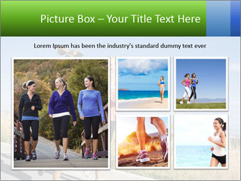 Two Women Jogging Together PowerPoint Template - Slide 19
