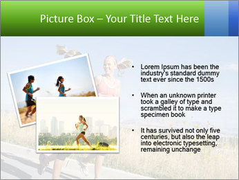 Two Women Jogging Together PowerPoint Template - Slide 20