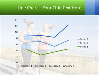 Two Women Jogging Together PowerPoint Template - Slide 54