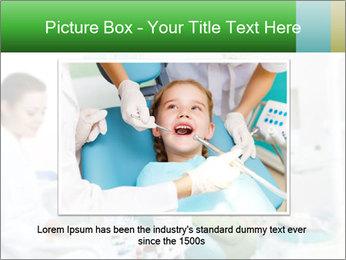 Woman Examines Her Teeth PowerPoint Template - Slide 16