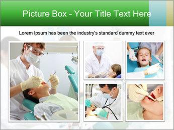 Woman Examines Her Teeth PowerPoint Template - Slide 19