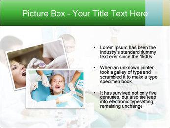 Woman Examines Her Teeth PowerPoint Templates - Slide 20