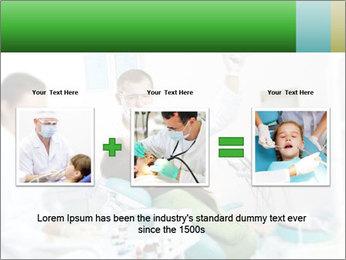 Woman Examines Her Teeth PowerPoint Templates - Slide 22