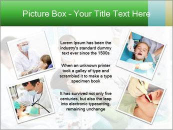 Woman Examines Her Teeth PowerPoint Template - Slide 24