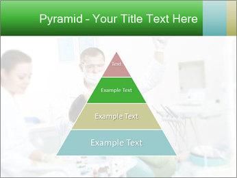 Woman Examines Her Teeth PowerPoint Template - Slide 30