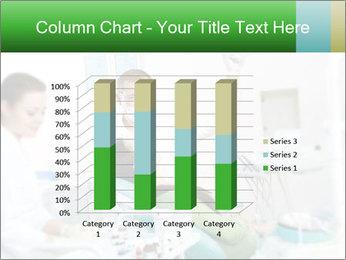 Woman Examines Her Teeth PowerPoint Template - Slide 50