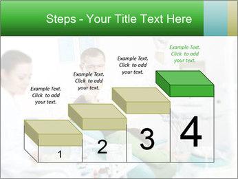 Woman Examines Her Teeth PowerPoint Template - Slide 64