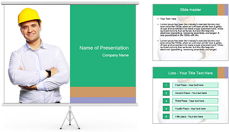 Handsome Constructor PowerPoint Template