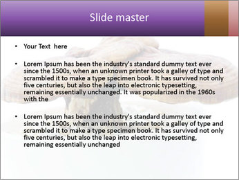 Chinese Mushroom PowerPoint Template - Slide 2