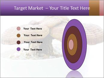Chinese Mushroom PowerPoint Template - Slide 84