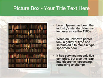 Antique Library PowerPoint Template - Slide 13