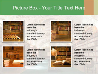 Antique Library PowerPoint Template - Slide 14