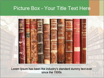 Antique Library PowerPoint Template - Slide 15