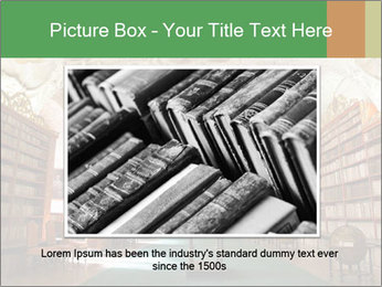 Antique Library PowerPoint Template - Slide 16