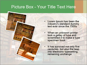 Antique Library PowerPoint Template - Slide 17