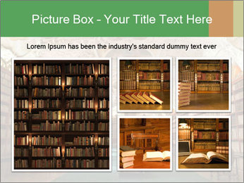 Antique Library PowerPoint Template - Slide 19