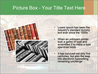 Antique Library PowerPoint Template - Slide 20