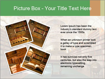 Antique Library PowerPoint Template - Slide 23