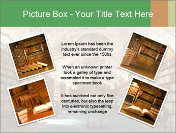 Antique Library PowerPoint Template - Slide 24