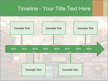 Antique Library PowerPoint Template - Slide 28