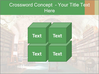 Antique Library PowerPoint Template - Slide 39
