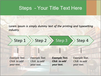 Antique Library PowerPoint Template - Slide 4