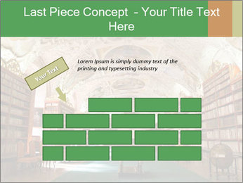 Antique Library PowerPoint Template - Slide 46