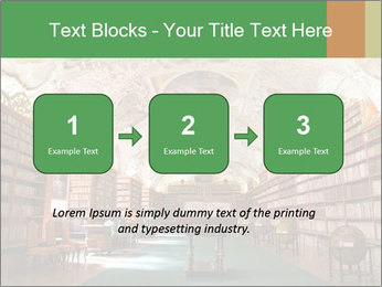 Antique Library PowerPoint Template - Slide 71